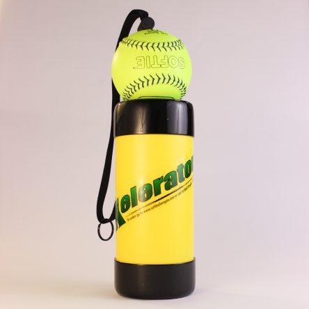 "11"" Yellow Xelerator with Leather Ball"